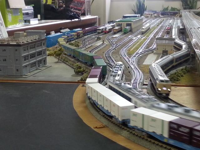 20150221_143048 桜井公民館鉄道模型展 - 貨物列車