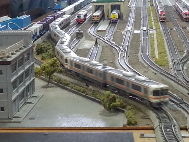 20150221_144429 桜井公民館鉄道模型展 - 313系