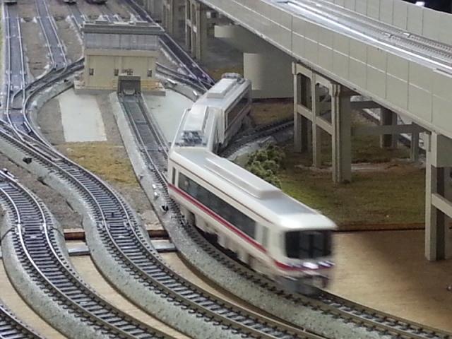 20150221_144451 桜井公民館鉄道模型展 - 1600系特急