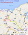 出石鉄道の周辺地図(あきひこ)
