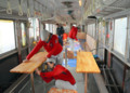 ふるい電車をまちあいしつに - 上信電鉄 (あさひ)