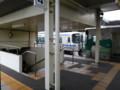 20150329_145205 北野桝塚 - 岡崎いきふつうと車庫にはいる電車