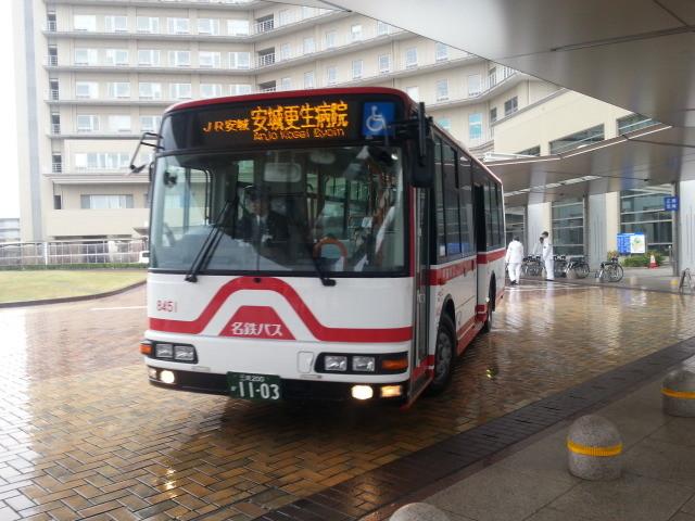 20150420_074719 更生病院 - 名鉄バス