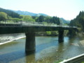 20150427_123201 名松線代行バス - 鉄橋