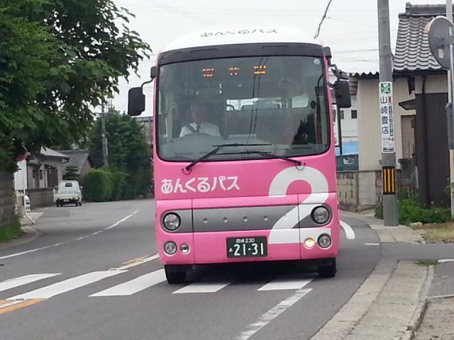 20150616_073450 古井町内会 - 桜井線バス