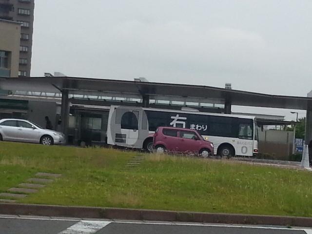 20150619_074504 桜井線バス - 更生病院