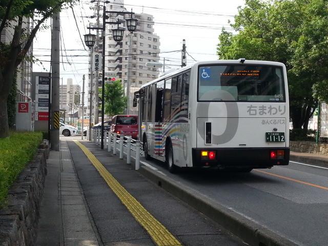 20150623_080716 市役所・文化センター - みぎまわり循環線バス 10人-1人