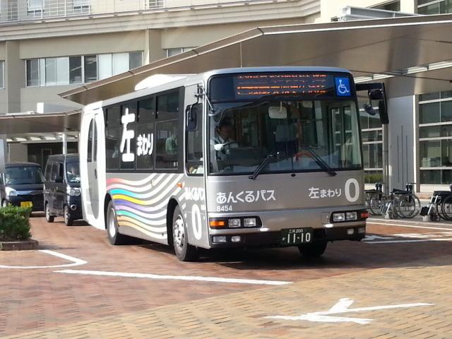 20150624_080326 更生病院 - ひだりまわり循環線バス