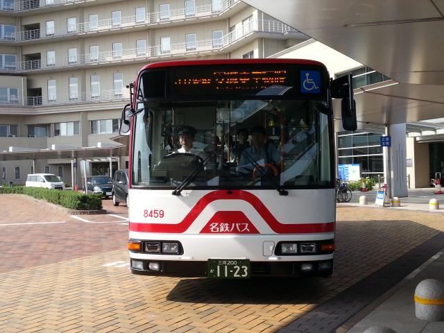 20150624_080435 更生病院 - 名鉄バス