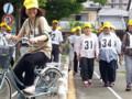 20150627_083309 高令者自転車大会 - 模範演技♪