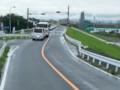 20150701_123617津島いき名鉄バス - 庄内川堤防道路