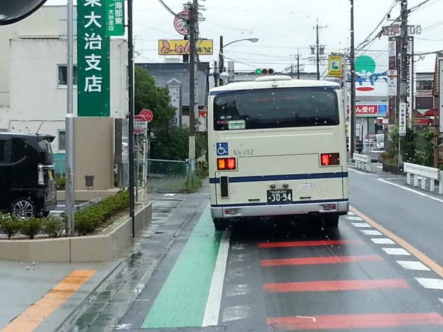 20150701_124040 津島いき名鉄バス - 大治役場前