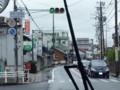 20150701_124638 津島いき名鉄バス - あま市七宝庁舎北交差点