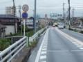 20150701_125004 津島いき名鉄バス - 蟹江川をわたる