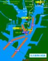 名古屋港の航路(名古屋港シップウォッチングの豆知識)