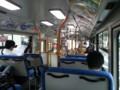 20150723_145004 幹神宮1系統バス - 新幹線をくぐる