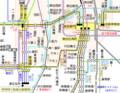 名古屋市バス幹神宮1系統路線図(東海橋まで)(路線図ドットコム)