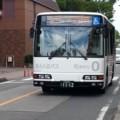 20150806_123202 市役所・文化センターバス停 - みぎまわり循環線バス