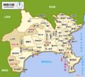 神奈川県の地図(マピオン)