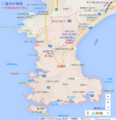 三浦市の地図(あきひこ)