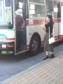 20150911_102438 西尾 - おりかえし西尾市民病院いきバス