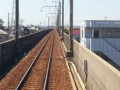 20150911_104359 西尾をでた電車はゆっくりと高架をすすむ