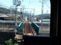 20150911_110143 吉良吉田をでた電車が矢崎川をわたる