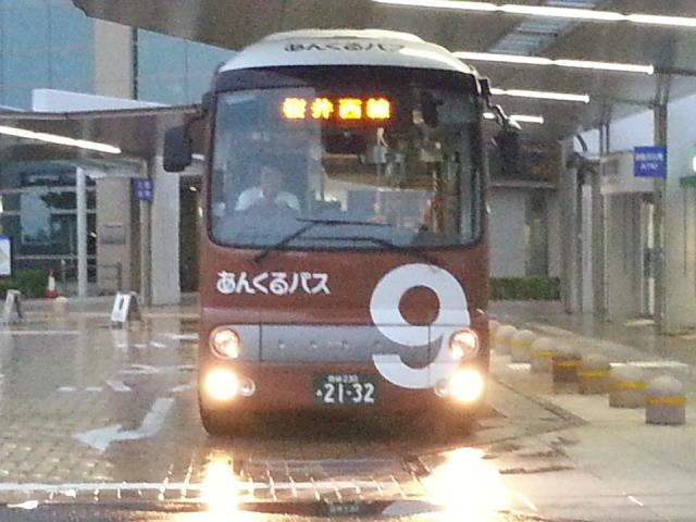 20150925_174047 更生病院 - 桜井西線バス