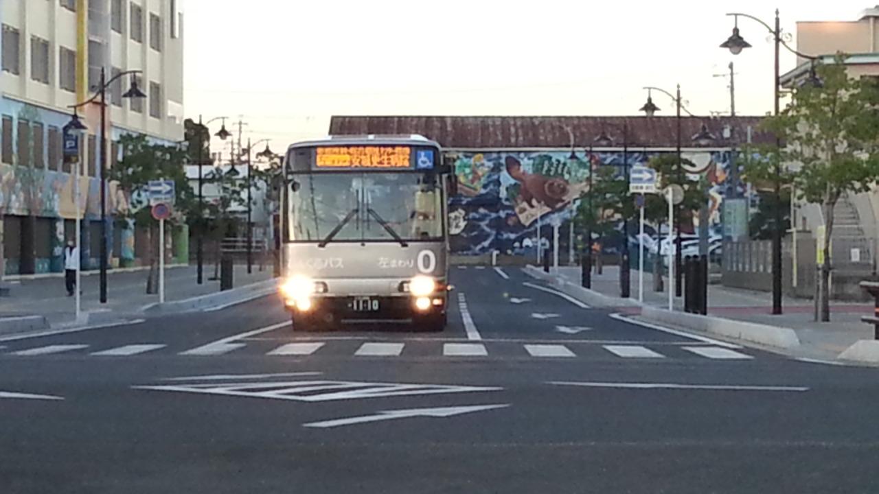 20150929_172732 御幸本町西交差点 - ひだりまわり循環線バス