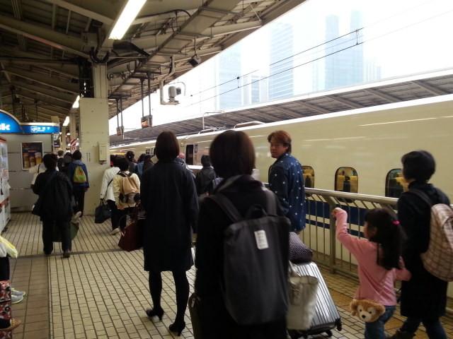 20151114_104525 東京 - 東京いきのぞみ112号がとうちゃく