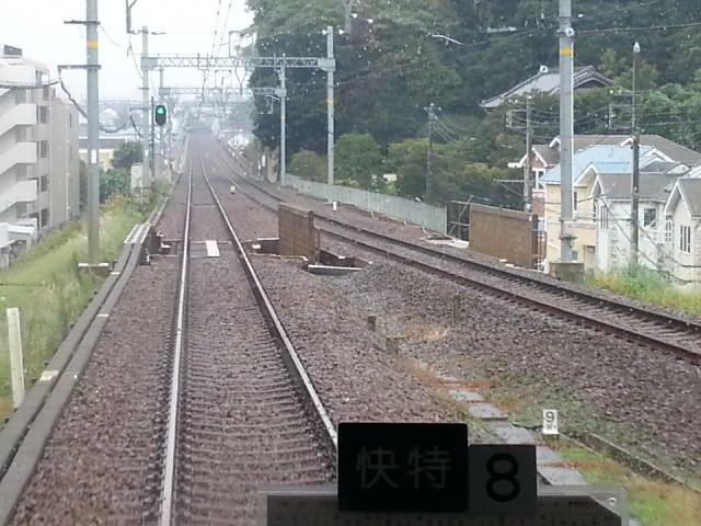 20151114_130808 三崎口いき快特 - 京急長沢と津久井浜のあいだ