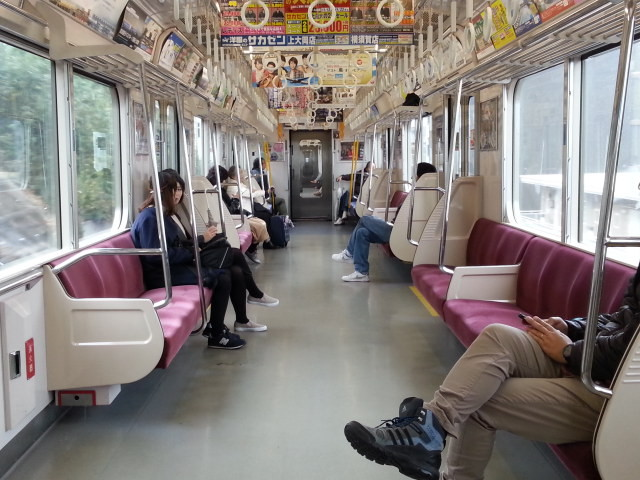 20151114_130940 三崎口いき快特 - 車内