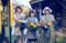 旧月潟駅でさつえいした「ねぇバーディア」のジャケット写真 640-420