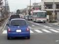 20151215_075147 名鉄バス - 大山町交差点