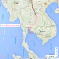 タイ縦断鉄道概念図(あきひこ)