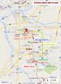 伊賀鉄道の新駅に関連する地図(あきひこ)