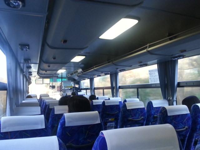 20151229_084124 東濃バス - 乗車7人