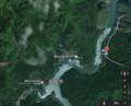 おおぞれえきと旧富山村の地図(あきひこ)