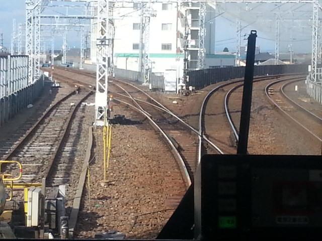 20160107_135012 名鉄一宮いきふつう - 津島すぎ分岐