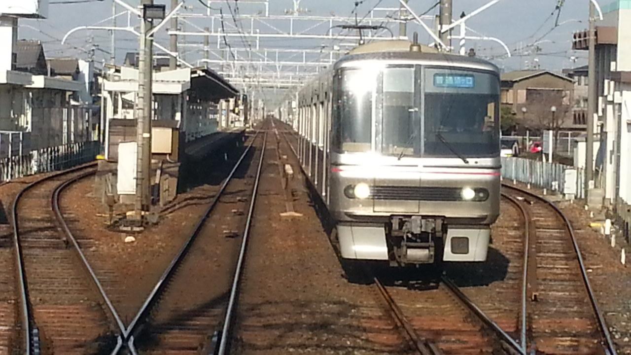 20160111_094540 名鉄岐阜いき特急 - 新清洲