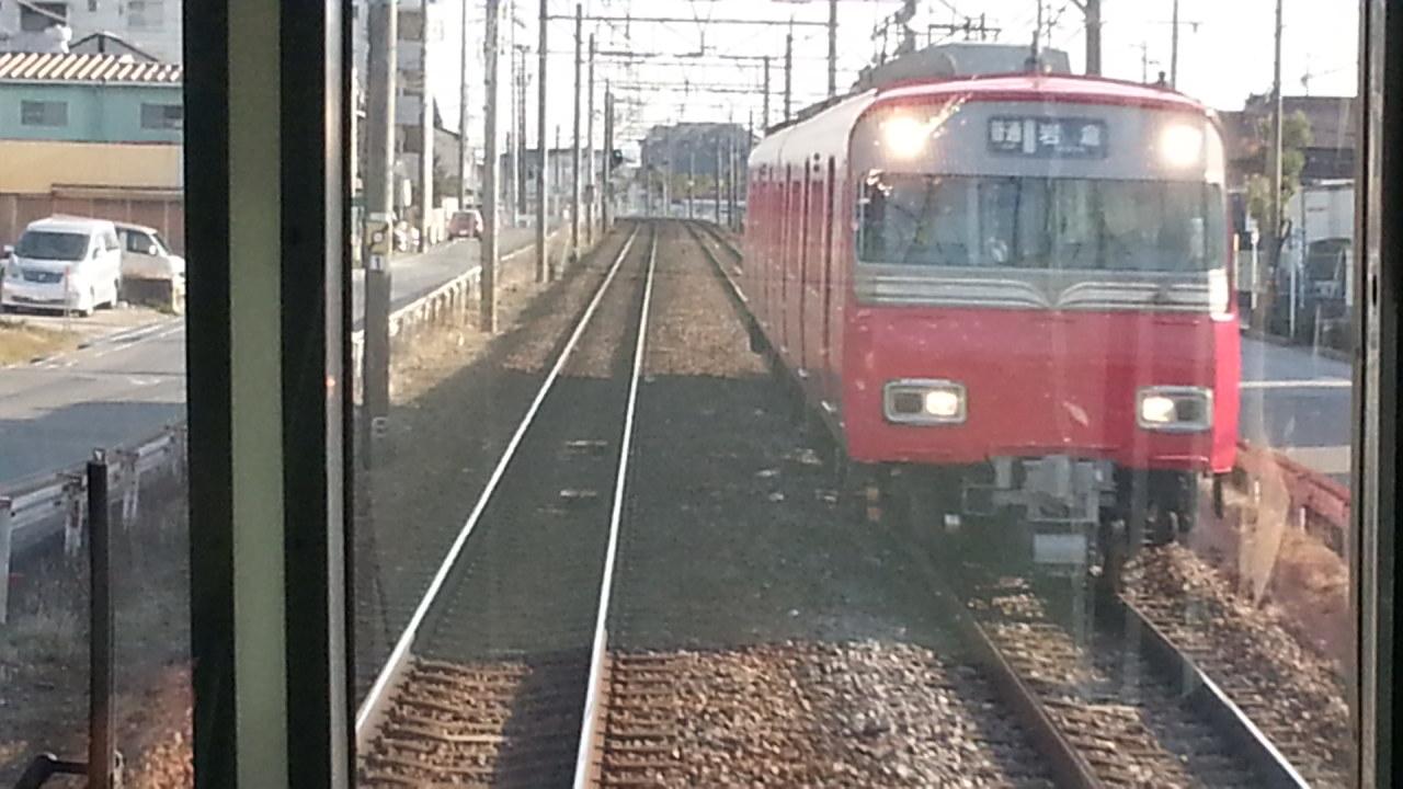 20160111_144636 吉良吉田いき急行 - 一ツ木てまえ(岩倉いきふつう)
