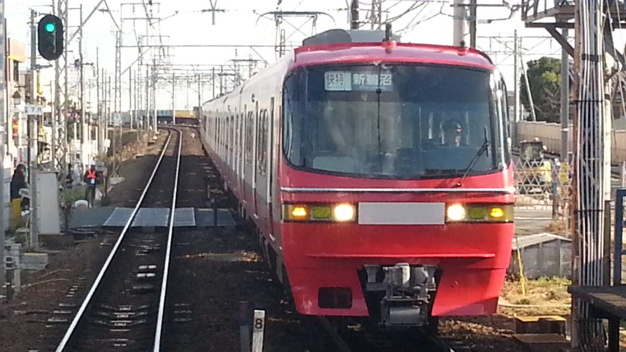 20160111_144850 吉良吉田いき急行 - 知立(新鵜沼いき快速特急)