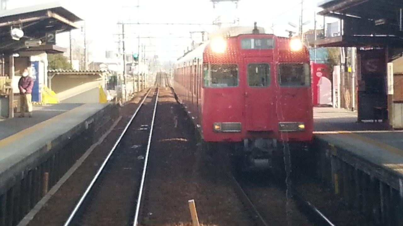 20160111_145110 吉良吉田いき急行 - 牛田(佐屋いき急行)