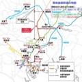 東京直結鉄道の地図