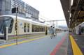 JR京都駅奈良線仮設拡幅ホーム(京都新聞)
