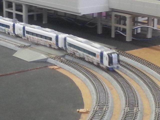20160206_142128 桜井公民館鉄道模型展 - ポケモン電車