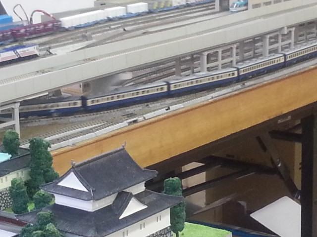 20160206_150202 桜井公民館鉄道模型展 - 横須賀電車