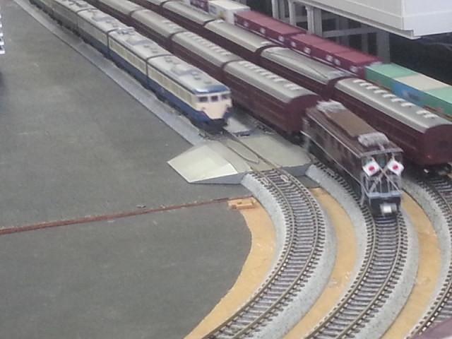 20160206_151041 桜井公民館鉄道模型展 - おめし列車