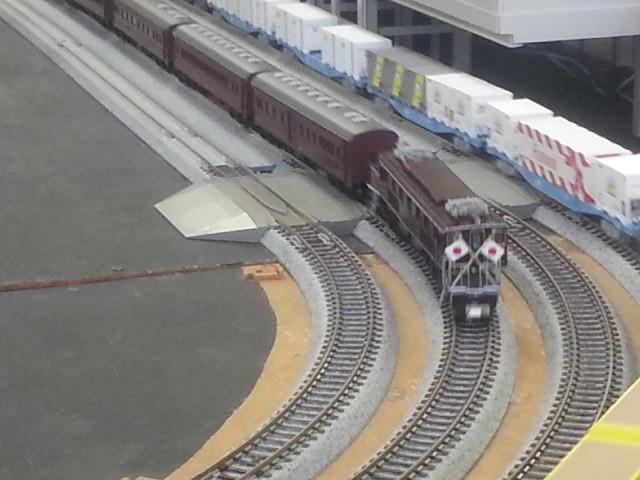 20160206_151150 桜井公民館鉄道模型展 - おめし列車