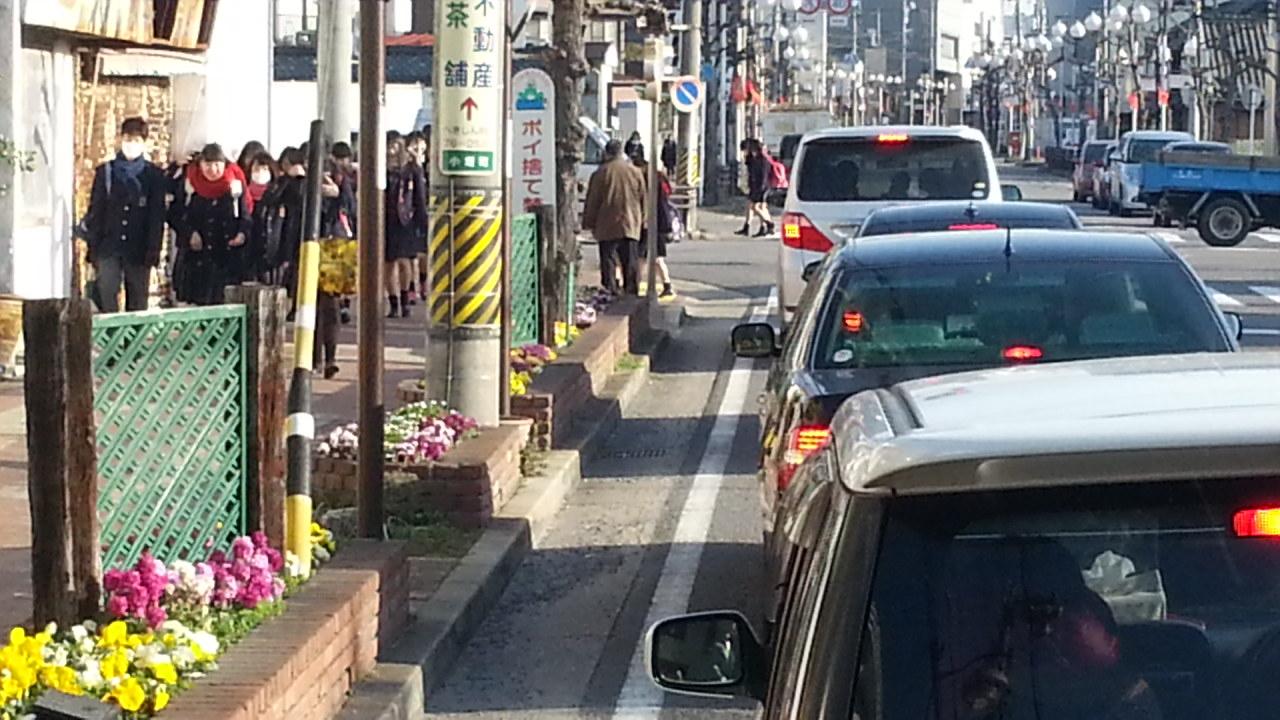 20160224_081423 名鉄バス - 末広町交差点てまえ